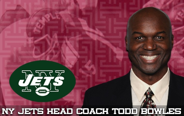 todd bowles named new york jets head coach temple university
