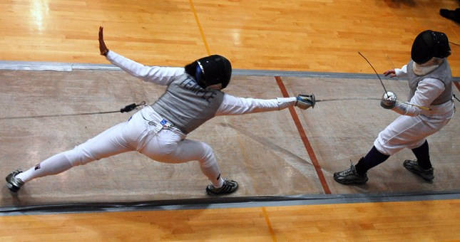 Fencing Begins New Year With Successful Day At Philadelphia Invitational
