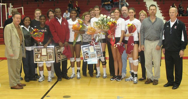 Volleyball Concludes Season With Senior Day Loss to Fordham