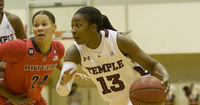 Women's Basketball Gets Past Rutgers, 60-58