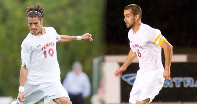Calafiore and Witmer Named NSCAA Men's Division I All-Region