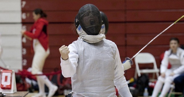 Fencing Competes At 39th Annual Garret Open