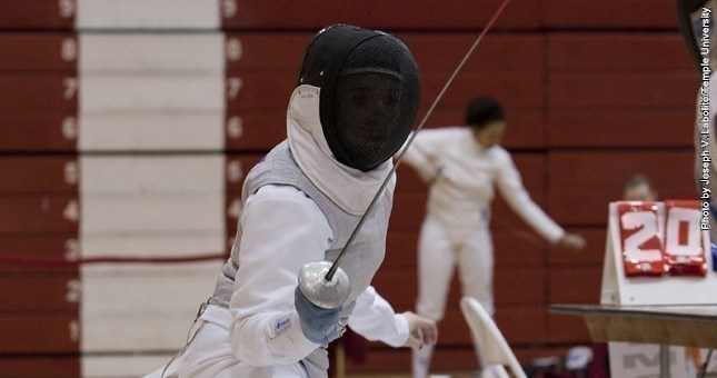 Fencing Posts Two Upsets At Penn State Multi-Meet