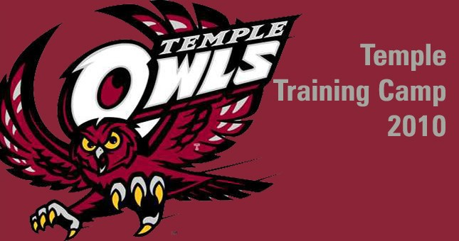 Temple Training Camp: Day 9 Video