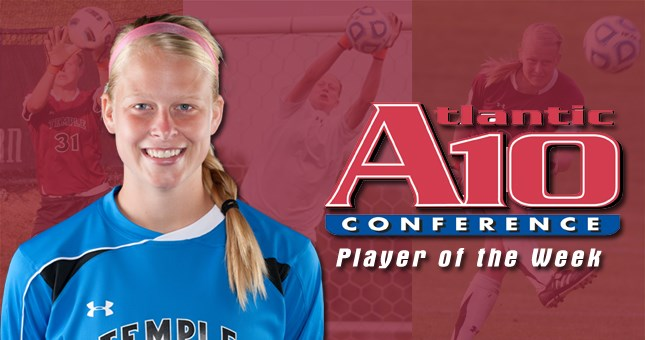 Back-to-Back Shutouts Earns Murphy A-10 Weekly Honors