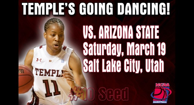 Women's Basketball to Face Arizona State in NCAA Tournament First Round
