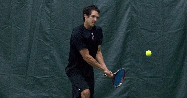Kacper Rams Wins Thriller at No. 1 Singles to Clinch Temple Men's Tennis' 4-3 Win at Delaware