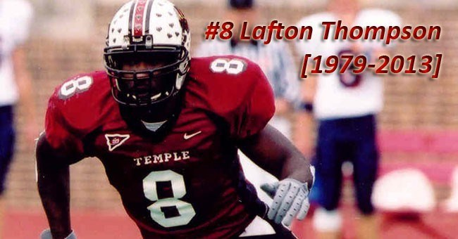 Former Football Player Lafton Thompson Passes Away