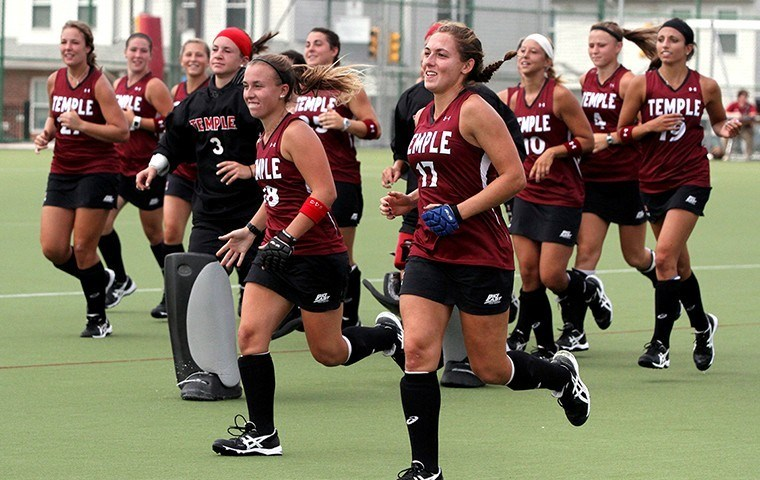 Field Hockey Featured on the Temple Athletics Show
