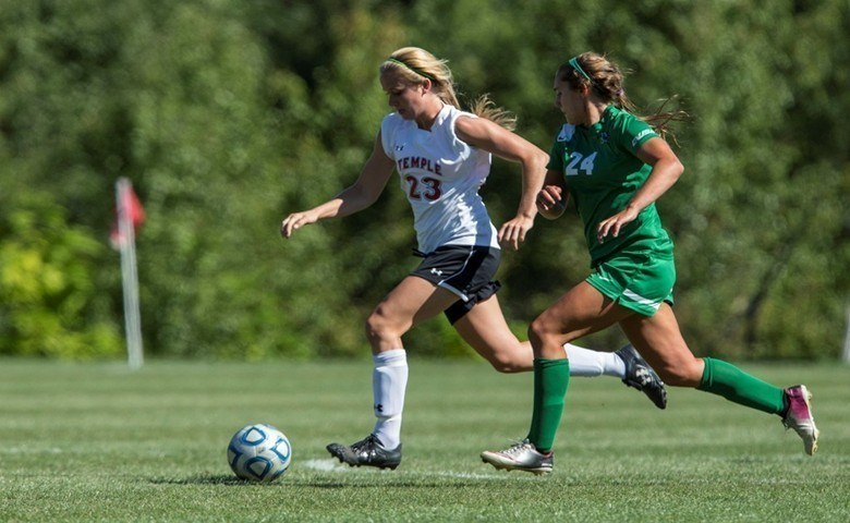 Women's Soccer Set to Host Delaware in Last Non-Conference Game