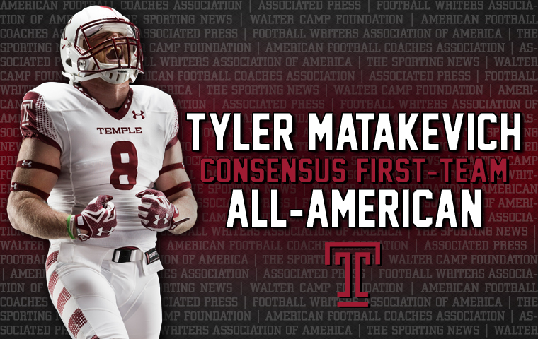 31815a4f882 Matakevich A Consensus All-American - Temple University Athletics