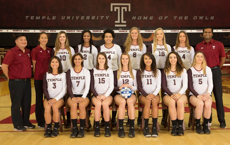 2016 Women S Volleyball Roster Temple University Athletics