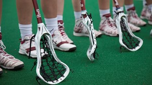 lax shoes sticks
