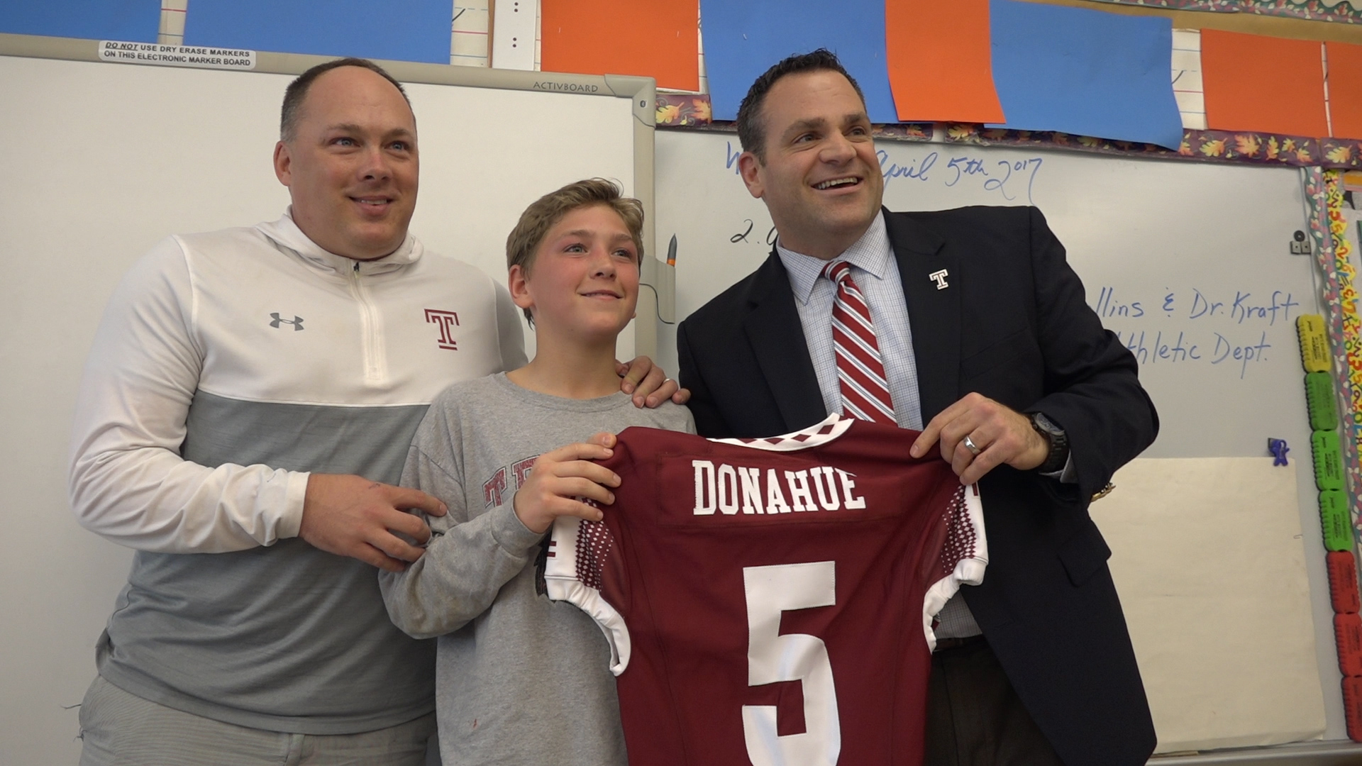 90644bbbf Sixth Grader Brian Donahue Hired as