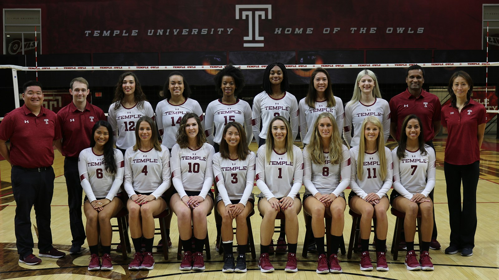 2018 Women S Volleyball Roster Temple University Athletics