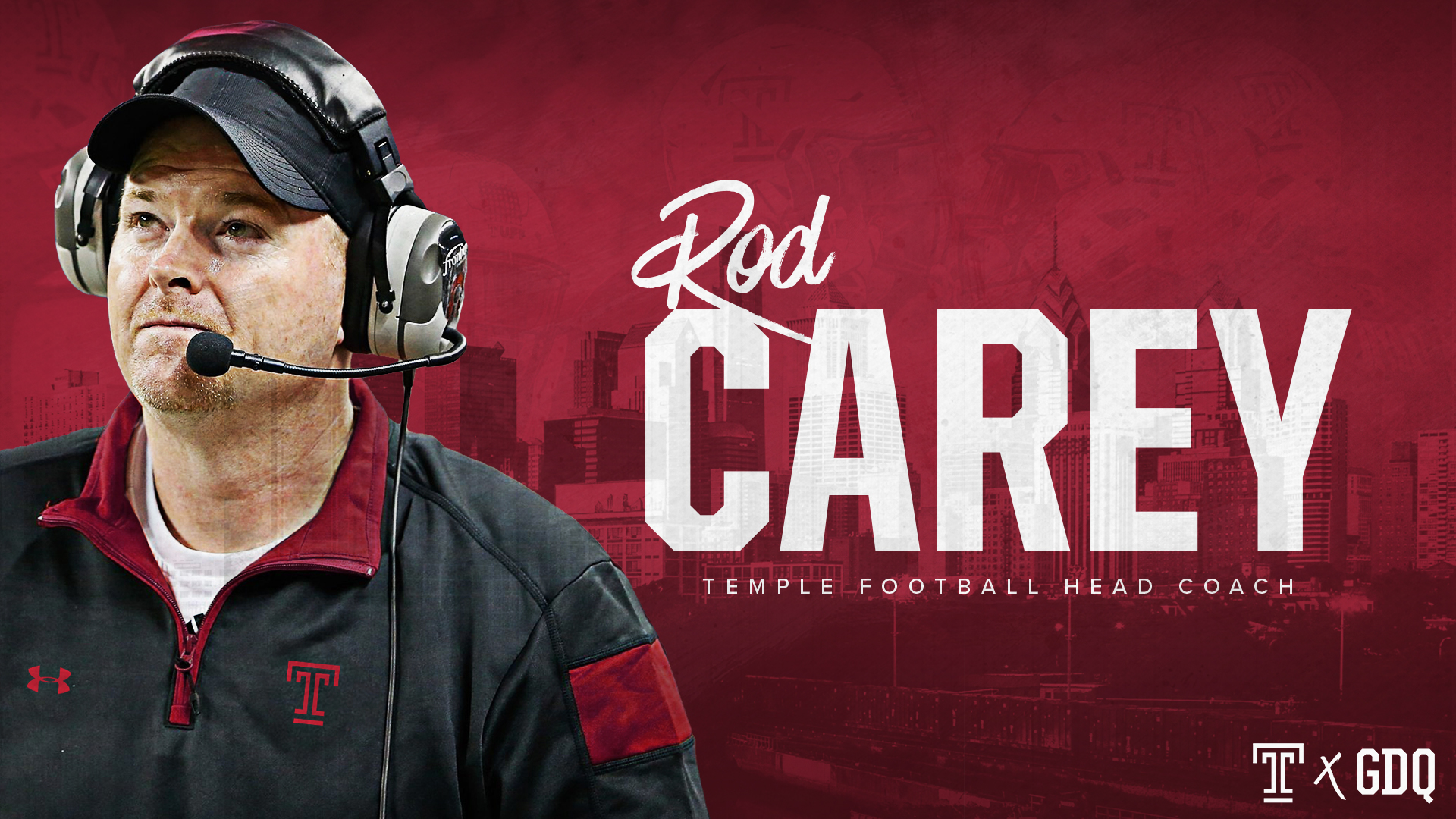 e097380c0 Rod Carey Named Temple Head Football Coach - Temple University Athletics
