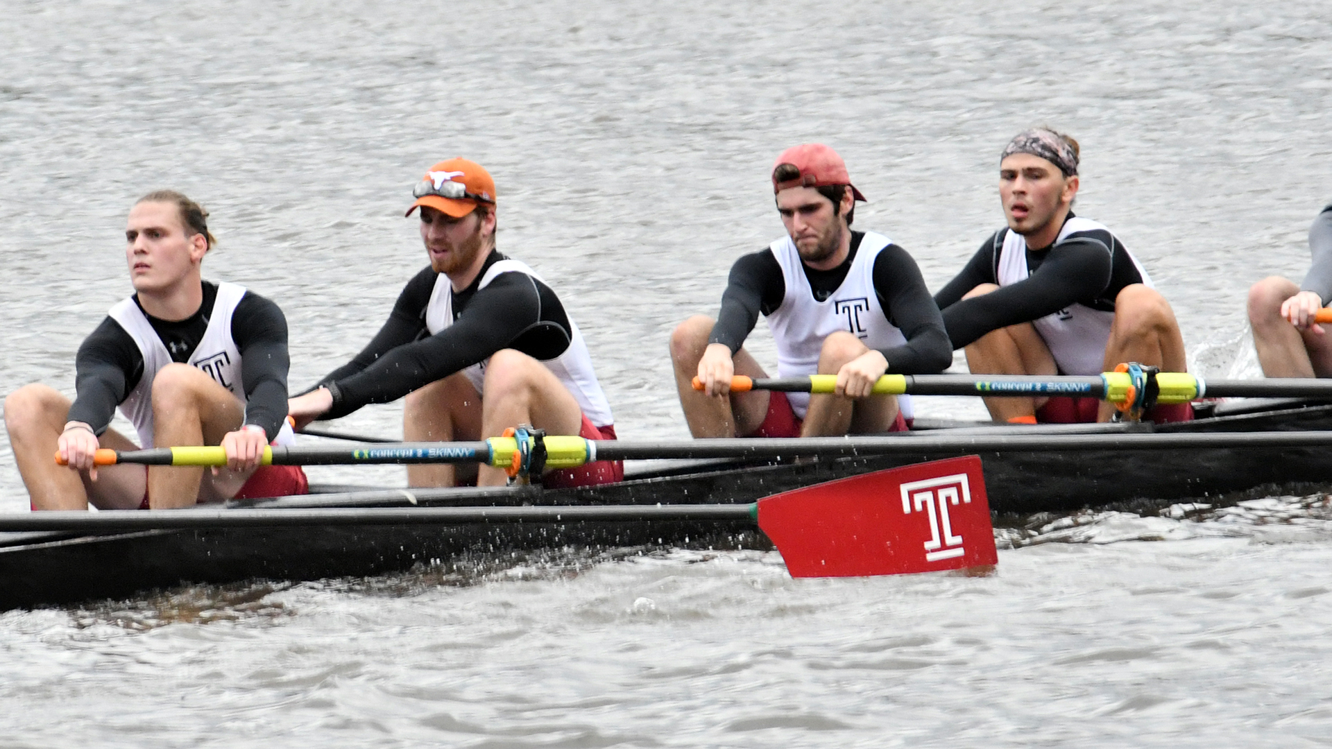 crew rowing men