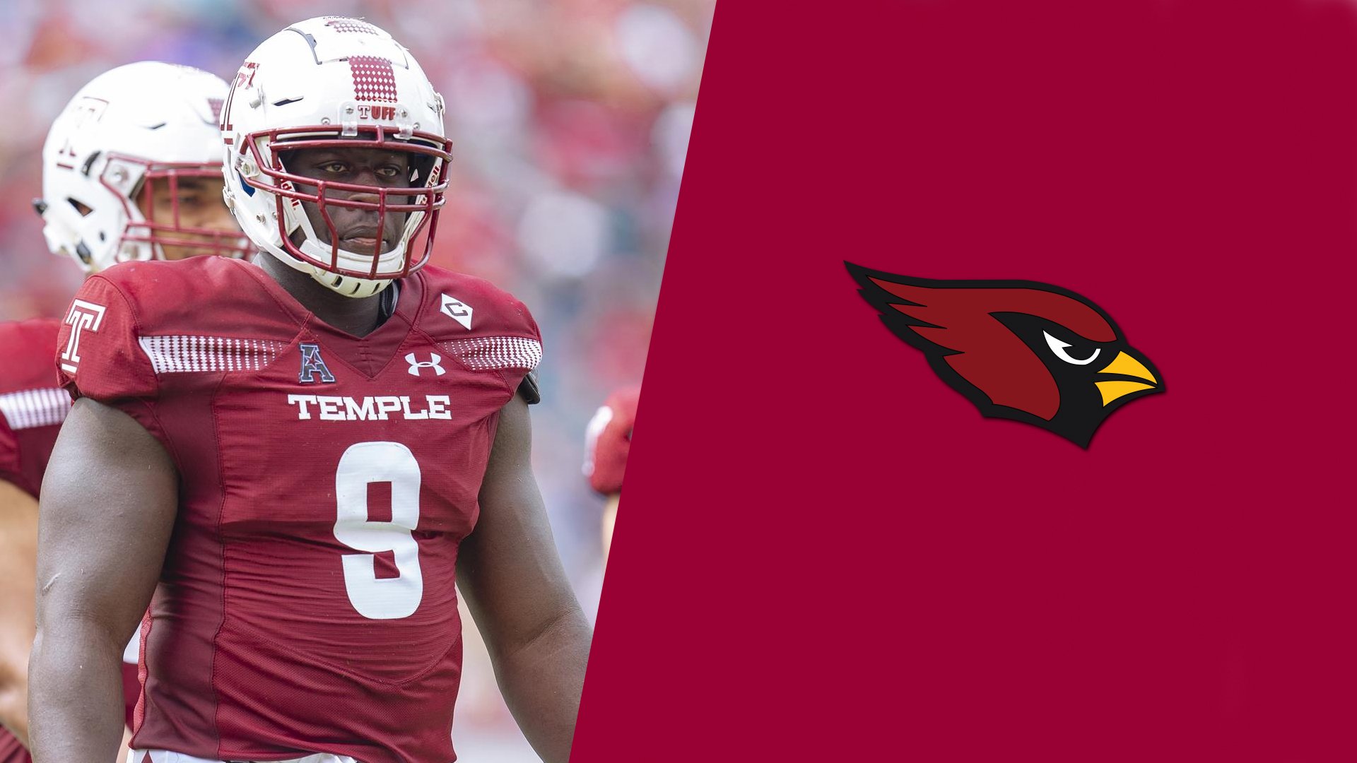 9ba484ff Dogbe Selected by Arizona in 2019 NFL Draft - Temple University ...