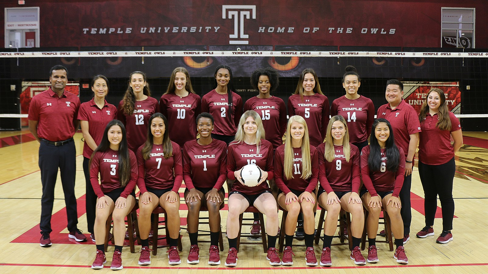 2019 Women S Volleyball Roster Temple University Athletics